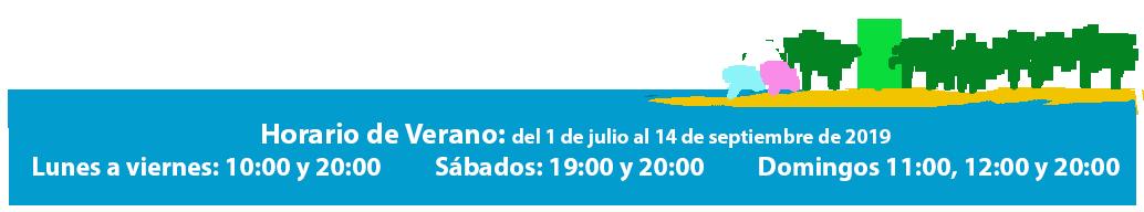 anuncio horario verano 2019_PLAYA