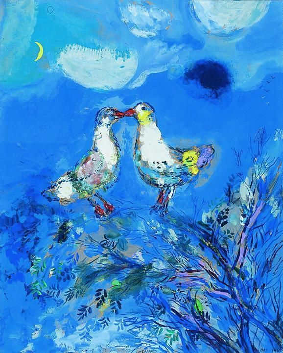 79c1df63ef3f603be62c204fe658121c_chagall_Les doux pigeons