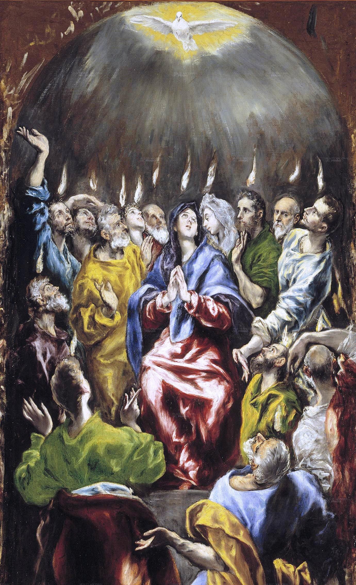 Pentecostés_(El_Greco,_1597)-detalle
